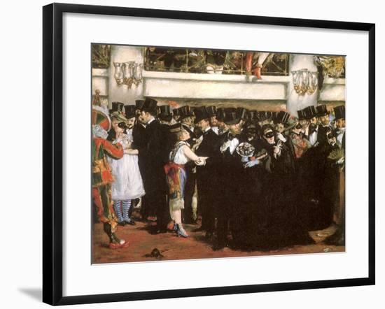 Ball at the Opera, 1873--Framed Giclee Print