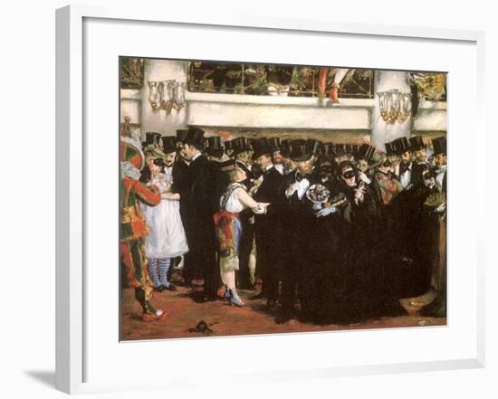 Ball at the Opera, 1873--Framed Giclee Print