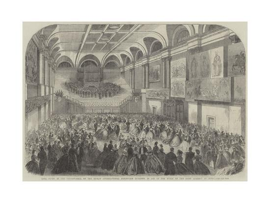 Ball Given in the Concert-Hall of the Dublin International Exhibition Building in Aid of the Funds --Giclee Print