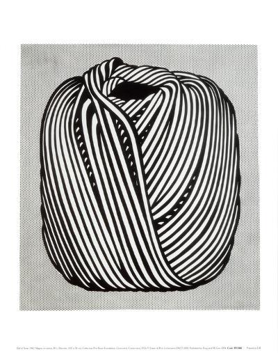 Ball of Twine, 1963-Roy Lichtenstein-Art Print