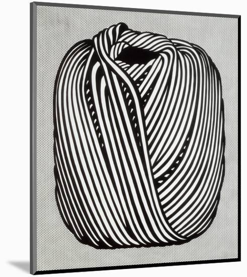 Ball of Twine, 1963-Roy Lichtenstein-Mounted Art Print