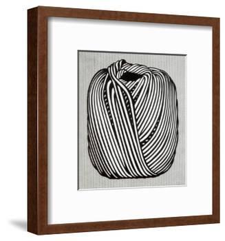 Ball of Twine, 1963-Roy Lichtenstein-Framed Art Print