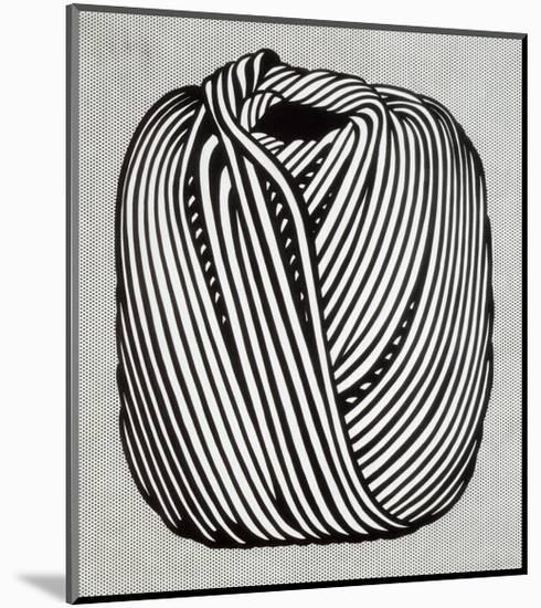 Ball of Twine, 1963-Roy Lichtenstein-Mounted Print