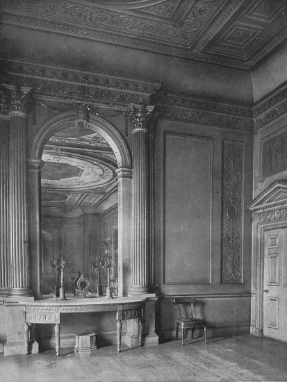'Ball-Room by Sir William Chambers, 1723-1796), at Carrington House, Whitehall', 1910-Unknown-Photographic Print