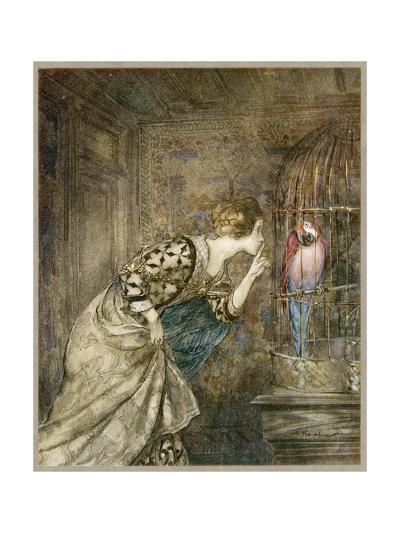Ballad, May Colven-Arthur Rackham-Giclee Print