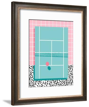 Baller-Wacka Designs-Framed Art Print