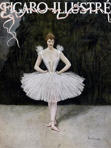 Ballerina, Cover of Figaro Illustre, Special Dance Issue, France, February 1895