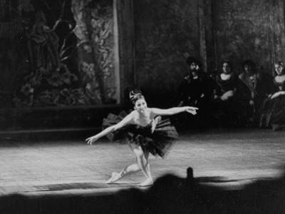 Ballerina Maya Plisetskaya During Performance in Honor of Nasser at Bolshoi Theater
