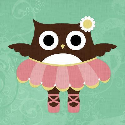 Ballerina Owl-Nancy Lee-Art Print