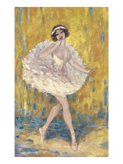 Ballerina--Art Print