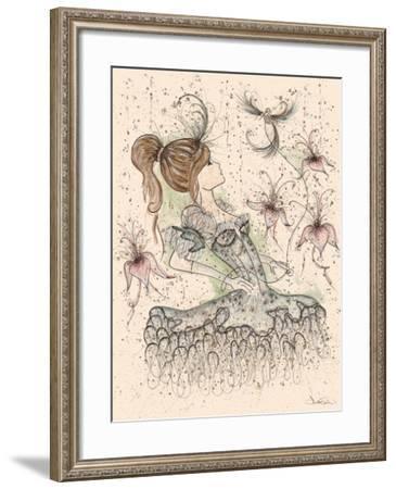 Ballerina-Emma Steel-Framed Giclee Print