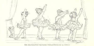 Ballerinas II-Steve O'Connell-Art Print