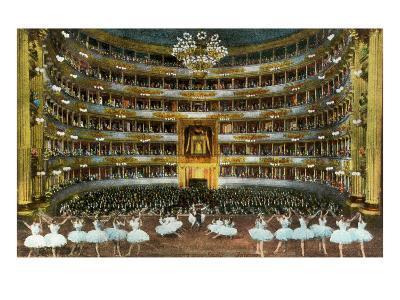 Ballet at La Scala--Art Print