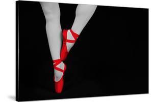 Ballet Dancer Standing on Toes