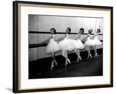 Ballet Dancers--Framed Photographic Print