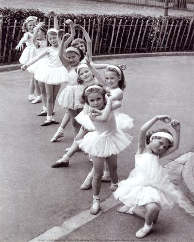 Ballet Dancing--Art Print