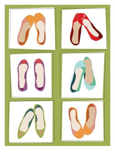 Ballet Flats--Giclee Print