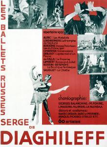 Ballet Russes Dieaghileff