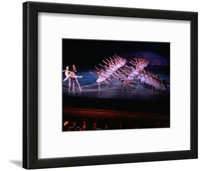 Ballet, Swan Lake Performance, Odesa Opera House, Odesa, Ukraine-Holger Leue-Framed Photographic Print
