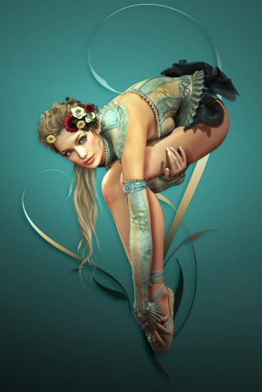 Ballet-Atelier Sommerland-Art Print