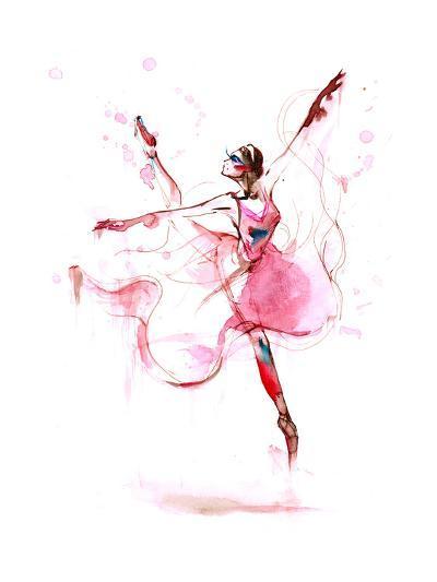 Ballet-okalinichenko-Art Print