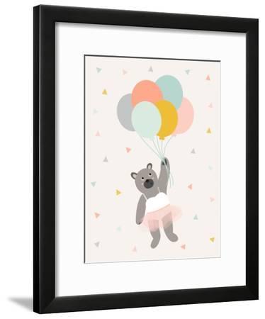 Ballett-Nanamia Design-Framed Art Print