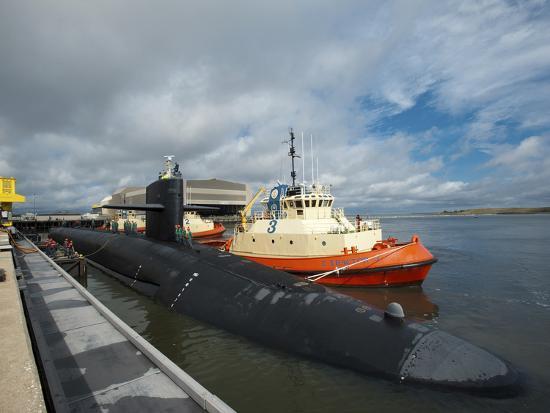 Ballistic Missile Submarine USS Tennessee at Naval Submarine Base Kings Bay-Stocktrek Images-Photographic Print