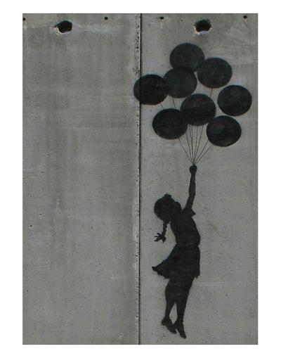 Balloon girl-Banksy-Art Print