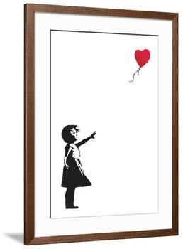Balloon Girl-Banksy-Framed Art Print