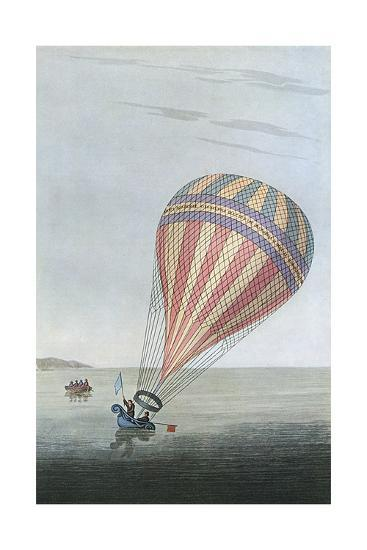 Balloon in Channel 1810--Giclee Print