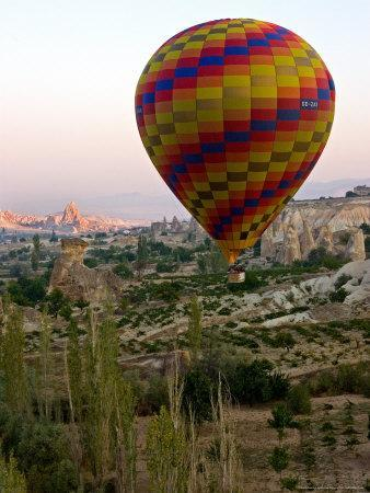Balloon Ride over Cappadocia, Turkey-Joe Restuccia III-Photographic Print