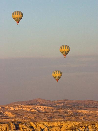 Balloon Ride over Cappadocia, Turkey-Joe Restuccia III-Photographic Print