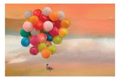 Balloon Ride-Nancy Tillman-Art Print