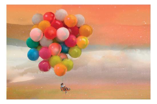 Balloon Ride-Nancy Tillman-Art Print