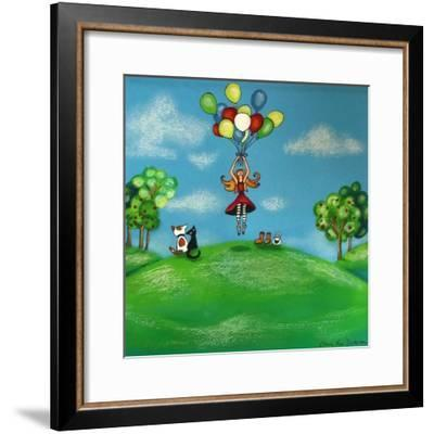Balloon Therapy-Cherie Roe Dirksen-Framed Giclee Print