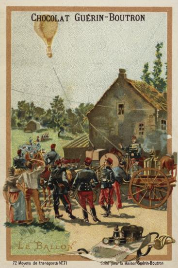 Balloon--Giclee Print