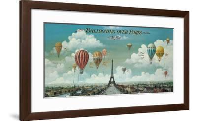 Ballooning Over Paris-Isiah and Benjamin Lane-Framed Art Print