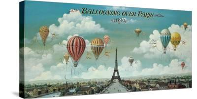 Ballooning Over Paris-Isiah and Benjamin Lane-Stretched Canvas Print