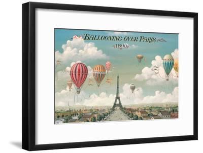 Ballooning Over Paris-Isiah and Benjamin Lane-Framed Premium Giclee Print