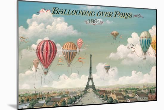 Ballooning Over Paris-Isiah and Benjamin Lane-Mounted Premium Giclee Print