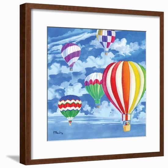 Balloons II-Paul Brent-Framed Art Print