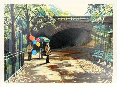 Balloons in Central Park-Harry McCormick-Limited Edition