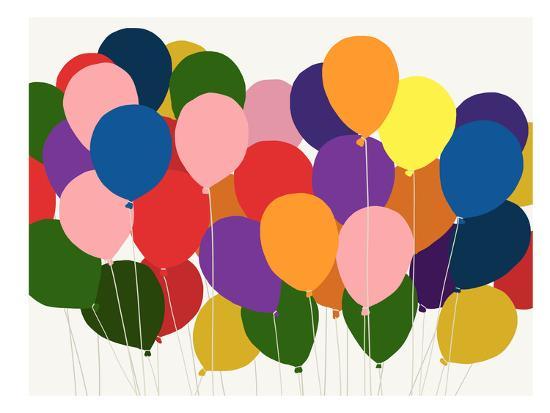 Balloons-Jorey Hurley-Art Print