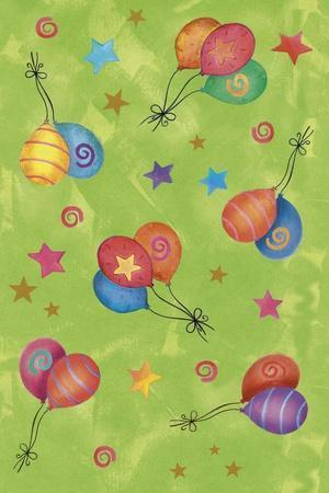Balloons-Maria Trad-Giclee Print