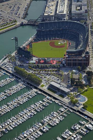 Ballpark, Home of San Francisco Giants, San Francisco, California-David Wall-Photographic Print