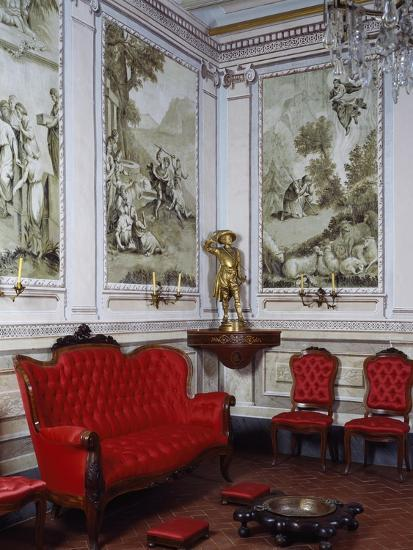 Ballroom, Romantic Museum, Sitges, Spain--Giclee Print