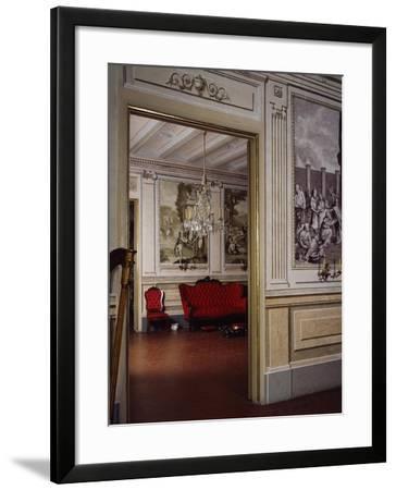 Ballroom, Romantic Museum, Sitges, Spain--Framed Giclee Print