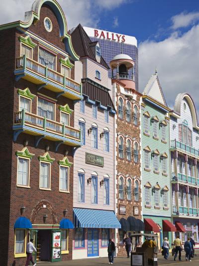 Bally's Casino and Hotel, Atlantic City Boardwalk, New Jersey-Richard Cummins-Photographic Print
