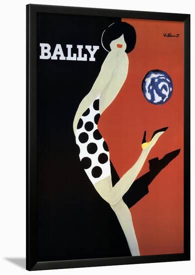 Bally-Bernard Villemot-Framed Art Print