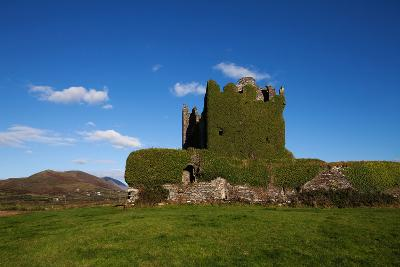 Ballycarberry Castle, Built Circa 16th Century, Near Caherciveen, Ring of Kerry, County Kerry--Photographic Print